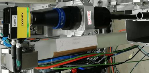 Rohrinspektion mit Cognex In-Sight Kamera